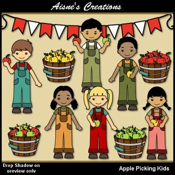 Apple Picking Kids