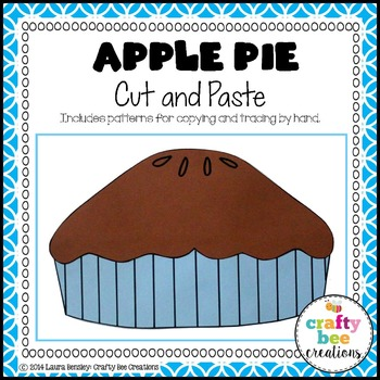 Apple Pie Cut and Paste