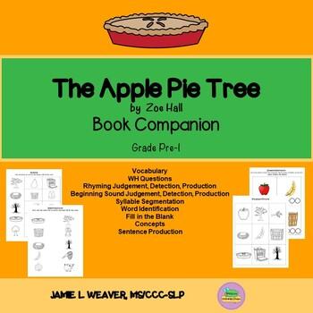 Apple Pie Tree Language Literacy Activity