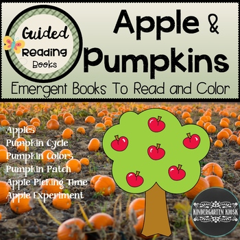 Apple & Pumpkin Themed Guided Readers