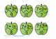 Apple Puzzles Addition Facts