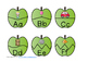 Apple Puzzles Beginning Sounds