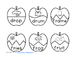Apple Puzzles R Blends