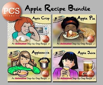 Apple Recipe Bundle - PCS Symbols