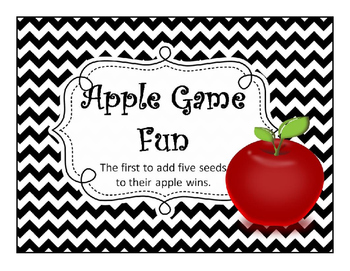 Apple Review Game - animated interactive powerpoint game f