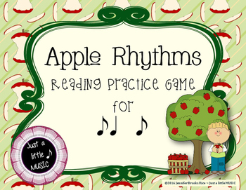 Apple Rhythms - Interactive Reading Practice Game {syncopa}