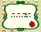 Apple Rhythms - Interactive Reading Practice Game {ti tika}