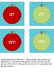 Apple Sight Word Games for Kindergarten