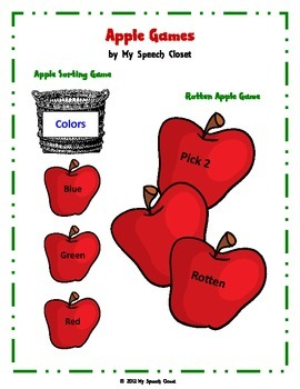 Apple Speech Therapy Games