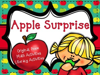 Apple Surprise - Poem, Literacy and Math Activities