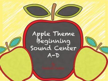 Apple Theme Beginning Sounds Center