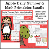 Apple Themed Daily Numbers & Math Bundle