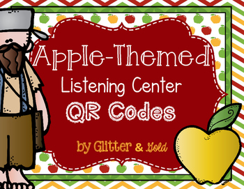 Apple Themed Listening Center QR Codes
