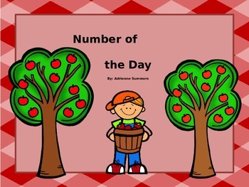 Apple Themed Number of the Day