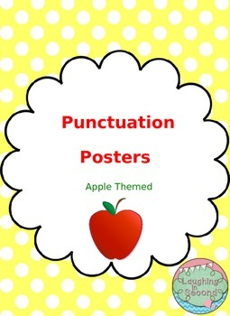 Apple Themed - Punctuation Posters
