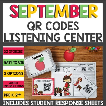 Apple Themed QR Codes for your Listening Center