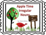 Apple Time Irregular Nouns
