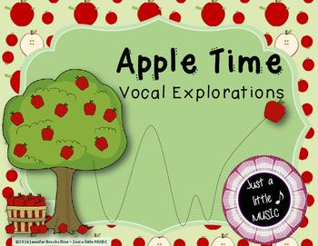 Apple Time Vocal Exploration Slides and Worksheets