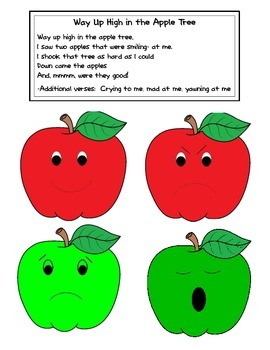 Apple Tree Feltboard Song and Game