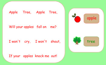 Apple Tree Song, Game, and Rhythms