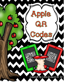 Apple Unit Freebie {QR Codes}