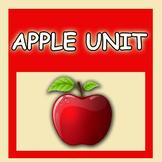 Apple Unit Kindergarten Preschool Math Literacy Revised!