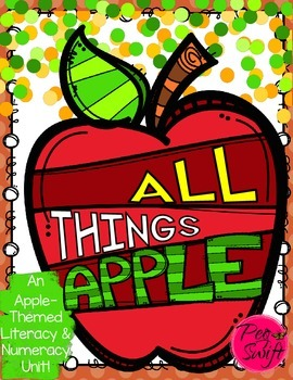 Apple Unit - Literacy, Science & Math