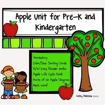 Apple Unit for Preschool and Kindergarten