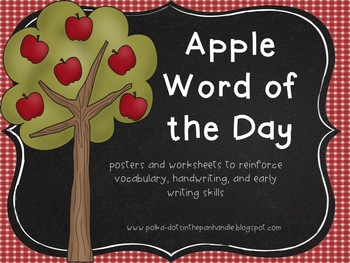 Apple Word of the Day