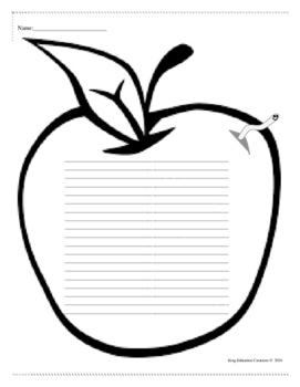 Apple Writing Page
