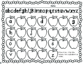 Apple-bet Order! Apples, Apples, Apples