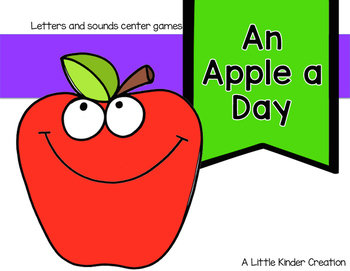 Apple letter and sounds