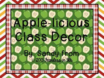 Apple-licious Class Decor