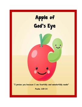 "Apple of God's Eye - The Letter ""A"""
