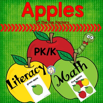 Leveled Books ~Apples~ Math and Literacy Centers