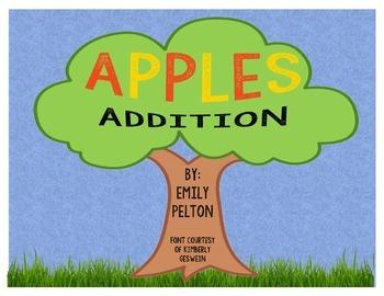 Apples Addition Activity Set