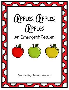 Apples, Apples, Apples - Emergent Reader