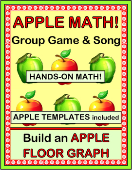 """""""Apple Activities!"""" -- Group Game, Song, Craft, and Math C"""