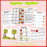 Apples! Apples! Preschool Pack