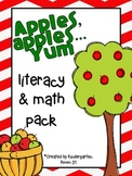 Apples, Apples Yum Literacy & Math Pack