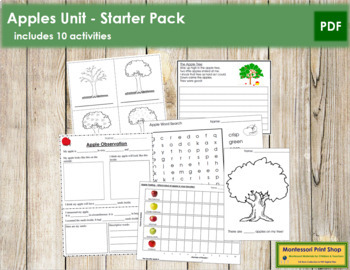 Apples: Basic Unit Starter
