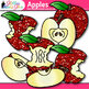 Apple Clip Art {Back to School Graphics for Autumn and Seq