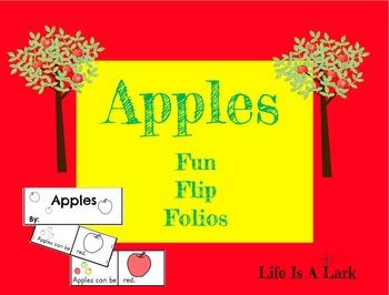 Apples Fun Flip Book ... Interactive Emergent Reader