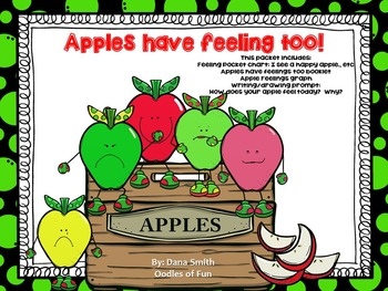 Apples Have Feelings Too! (pocketchart, booklet, graph, an