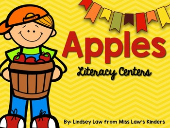 Apples Literacy & Math Pack