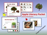 Apples Literacy Packet--great for Special Education/SLP co