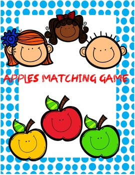Apples Matching Game - Addition
