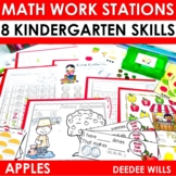 Math Stations ~ Apples