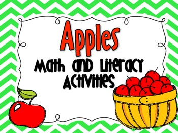 Apples:  Math and Literacy Activities