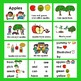 Apples POWERPOINT - 3 Reading Levels + Illustrated Vocab. Slides